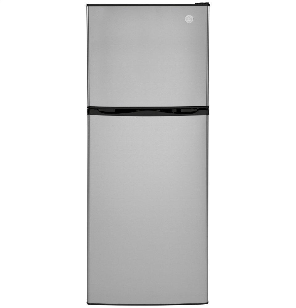 GE9.9 Cu. Ft. 12 Volt Dc Power Top-Freezer Refrigerator