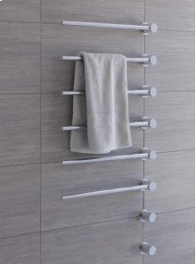 Towel warmer - electric 120V - Grey