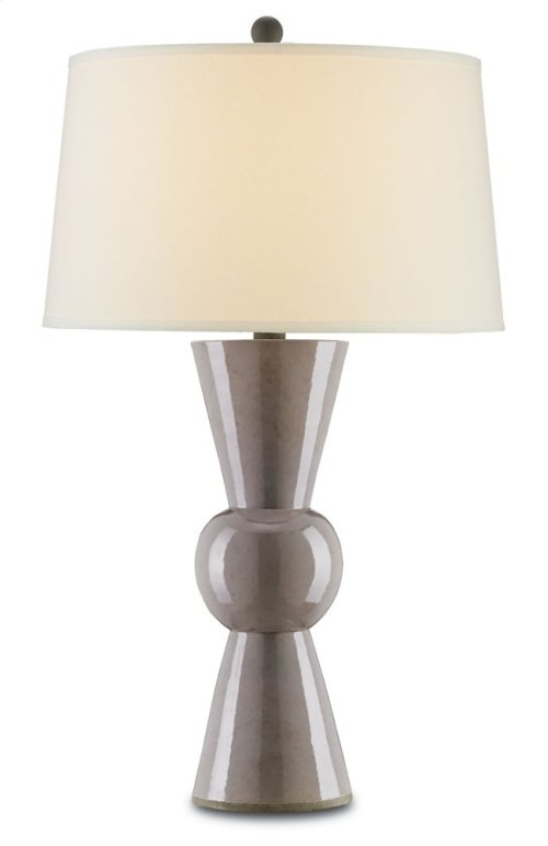 Upbeat Gray Table Lamp