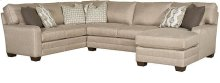 Bentley LAF Corner Sofa, Bentley Armless Loveseat, Bentley RAF One Arm Chaise