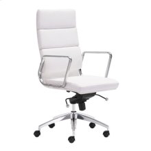 Engineer High Back Office Chair White
