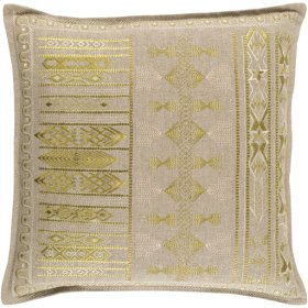 """Jizera JIZ-002 18"""" x 18"""" Pillow Shell with Polyester Insert"""