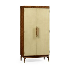 Hyedua and Celadon Tall Drinks Cabinet