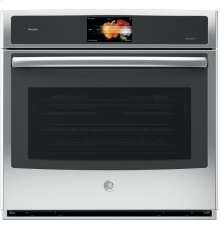 Premium Appearance, 5 cu. Ft. Wall Oven, Touch Colour Display, WiFi Connected, True European Convection with Direct Air