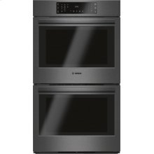800 Series built-in double oven 30'' Stainless steel HBL8642UC