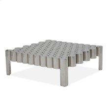 La Tania Rectangular Cocktail Table - Silver