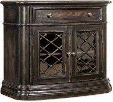 Auberose One-Drawer Two-Door Nightstand