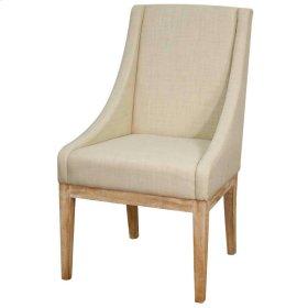 Houston Fabric Chair NWO Leg, Linen