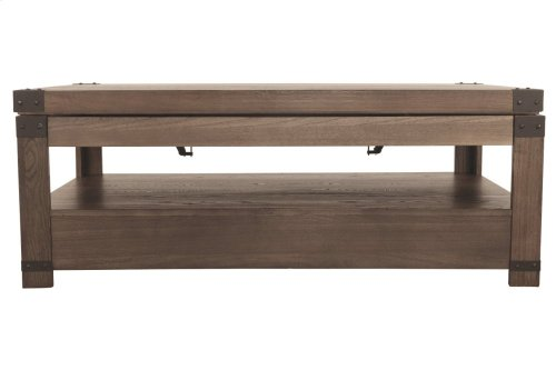 Rect Lift Top Cocktail Table