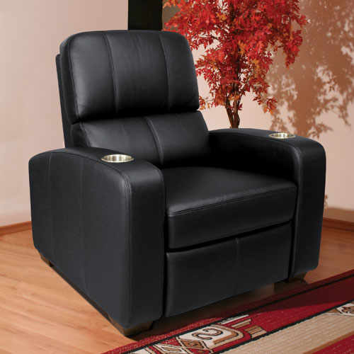 Brown Double Arm Reclining Chair & HTS100BN in by Bello in Oceanside NY - Brown Double Arm Reclining Chair