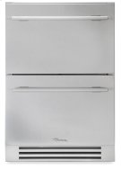 24 Inch Stainless Steel Undercounter Freezer Drawer - Stainless Steel Product Image