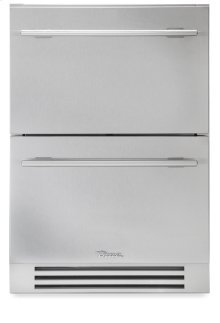 24 Inch Stainless Steel Undercounter Freezer Drawer - Stainless Steel