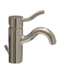 Venus single-hole, single-lever lavatory faucet with pop-up waste.