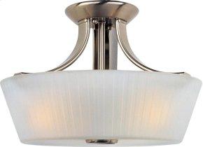 Finesse 3-Light Semi-Flush Mount