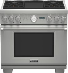 36 inch Professional Series Pro Grand® Commercial Depth Dual Fuel Range