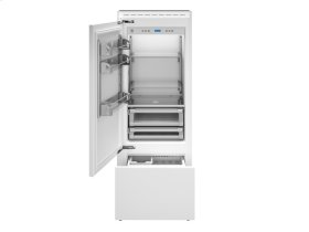 30 Built-In Bottom Mount Panel Ready Stainless