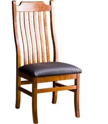 Madison Side Chair w/ Leather Seat