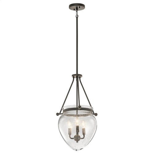 Belle Collection Belle 3 Light Foyer Pendant OZ