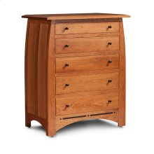 Aspen 5-Drawer Chest with Inlay