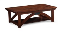 B&O Railroade Trestle Bridge Coffee Table, Character Cherry