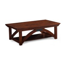 B&O Railroade Trestle Bridge Coffee Table, Character Cherry