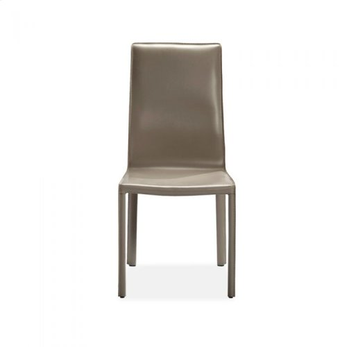 Jada High Back Dining Chair - Taupe
