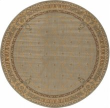 Hard To Find Sizes Ashton House As03 Surf Round Rug 11'6'' X 11'6''