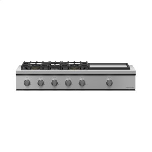 "Fisher & PaykelGas Rangetop, 48"", Griddle, LPG"