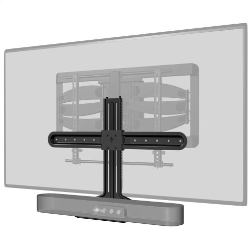 Black- Mount for attaching Beam to a mounted TV.