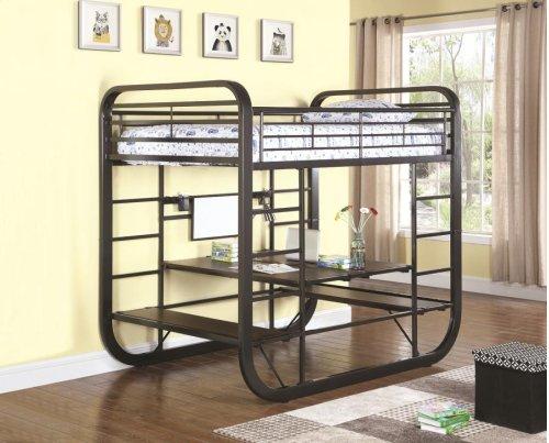 Full / Full Workstation Bunk Bed