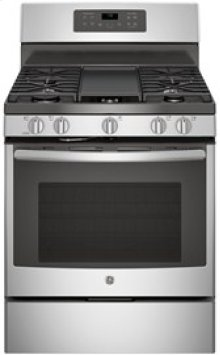 """30"""" Free-Standing Gas Convection Self Cleaning Gas Range"""