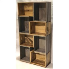 "#625 Crate Bookcase 26.5""wx10.5""dx53.75""h"