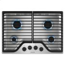 30-inch Gas Cooktop with 4 Burners - stainless steel Product Image