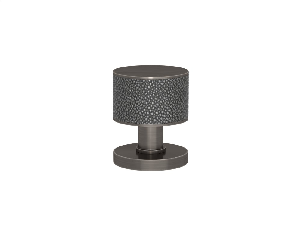 Stacked Shagreen Recess Amalfine In Alupewt And Vintage Nickel