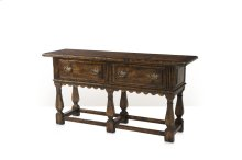 Victory Oak Server Sideboard