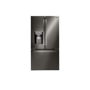 26 cu. ft. Smart wi-fi Enabled French Door Refrigerator - BLACK STAINLESS STEEL