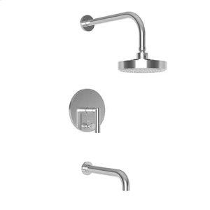 Matte White Balanced Pressure Tub & Shower Trim Set