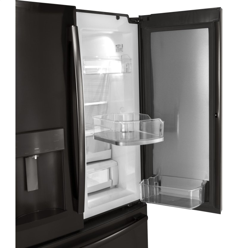 GE® 27 8 Cu  Ft  French-Door Refrigerator with Door In Door