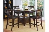 Round / Oval Counter Height Table with Storage Base Product Image