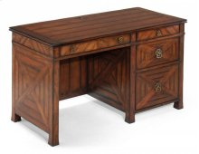 Parquet Kneehole Desk