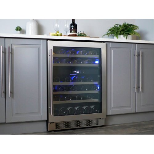 "24"" Dual Zone Wine Cooler"
