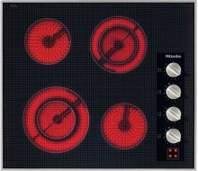 "24"" 4-Burner KM 5621 Electric Cooktop - Ceran® Glass Electric Cooktop (240V)"
