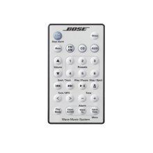 Wave music system remote