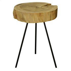 Lombardi End Table, Natural