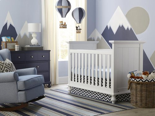 Wakefield Colors 3 in 1 Convertible Crib