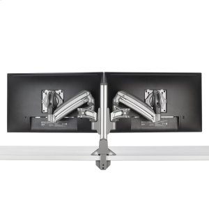 Chief ManufacturingKX Low-Profile Dual Monitor Arms, Column Desk Mount, Silver