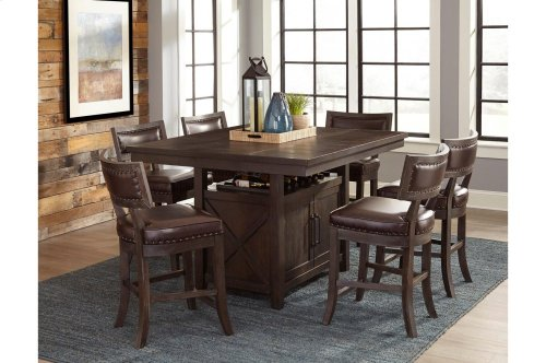 Counter Height Table with 6 Stools