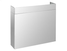 """PRO Line duct cover 48"""", Full width Stainless steel"""