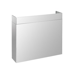 """SuperiorePRO Line duct cover 48"""", Full width Stainless steel"""