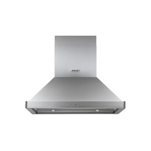 "Dacor36"" Chimney Island Hood, Silver Stainless Steel"